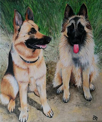 Les chiens de Martine